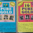 16 Pure Gold cassettes volume 1 & 6