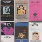 JUDY GARLAND THAT'S ENTERTAINMENT- OVER THE RAINBOW-STORY & MORE (6) CASSETTE