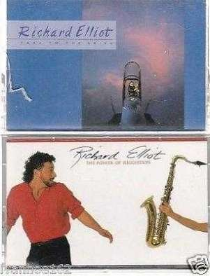 Richard Elliot - Take To The Skies & POWER OF SUGGESTION JAZZ CASSETTES (2)