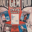 The Dance Gem Folio for 1926 Number 2 (Paperback)