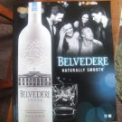 BELVEDERE Vodka alcohol advertisement print