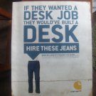 Carhartt Jeans Magazine Advertisement-Hire These Jeans