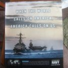 Pacific Ocean Carrier Strike Group -Navy Magazine Advertisement