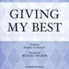 Giving My Best [Paperback] By Michael Frazier