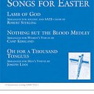 Three A Cappella Songs For Easter