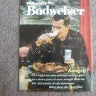 "VINTAGE BUDWEISER AD--""This Calls for Budweiser"" Steak"