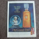 Vintage Kentucky Bourbon Whiskey ad OLD GRAND - DAD Life magazine advertisement