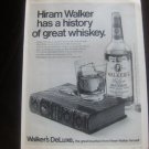"""Hiram Walker's DeLuxe Bourbon """"A History of Great Whiskey"""""""