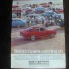 Vintage 1967 Magazine Ad Buick Opel Kadett Popular Good Looking Easy On Wallet