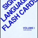 Sign Language Flash Cards  by Harry W. Hoemann