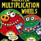 Monster Multiplication Wheels (Master the Facts)