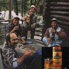 "1983 ""Earning a buck is hard. Enjoying it shouldn't be"" Kessler Whiskey Ad"
