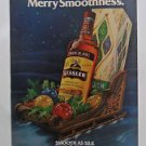 1978 Print Ad Kessler American Whisky ~ Merry Smoothness