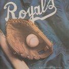 Kansas City Royals Spring Training Program 1985
