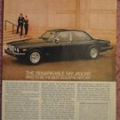 1981 Jaguar Series III Original Color Magazine ad