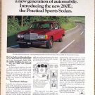 MERCEDES BENZ 280E 1977 Advertisement AD The Legend Continues