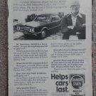 Quaker State 1979 - 1966 Cutlass Magazine Ad