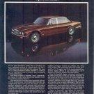 1976 Jaguar XJ6 Magazine Ad
