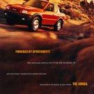 1998 Isuzu Amigo - red - Classic Vintage Advertisement