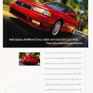 1997 Subaru Legacy 2.5 GT Red - Classic Vintage Advertisement Ad