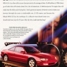 1993 Mazda MX-6 LS - Timeless - Classic Vintage Advertisement Ad