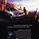 2000 Mazda MPV Van - Original Car Advertisement Print Ad
