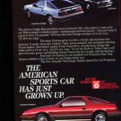1984 Dodge Daytona Turbo Z - Grown - Classic Vintage Advertisement Ad