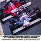 1987 Saab Turbo Race - Goodrich - Classic Vintage Advertisement Ad