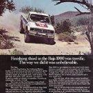 Classic 1983 Magazine Advertisement - ISUZU 4x4 PICK-UP