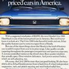 1983 Honda Civic 1300 - America - Classic Vintage Advertisement Ad