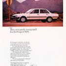 1983 White Peugeot 505S Vintage Car Ad