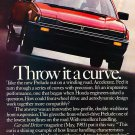 1983 Honda Prelude - curve - Classic Vintage Advertisement Ad