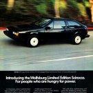 1983 VOLKSWAGEN VW SCIROCCO—WOLFSBURG EDITION | VINTAGE MAGAZINE AD