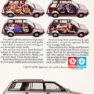 1985 Dodge Colt Vista Mitsubishi - Classic Vintage Advertisement Ad