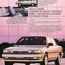 1987 Toyota Camry - sedan stunning - Classic Vintage Advertisement Ad