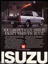 1987 ISUZU Pickup advertisement, Isuzu P�UP pickup truck