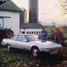 1985 Subaru XT - Farm - Classic Vintage Advertisement Ad