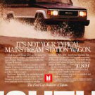 1987 Isuzu Trooper II - water - Classic Vintage Advertisement Ad