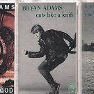 BRYAN ADAMS CASSETTE LOT (3)