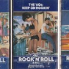 TIME LIFE ROCK N ROLL ERA 1958-THE 60'S KEEP ON ROCKIN-1961 CASSETTES