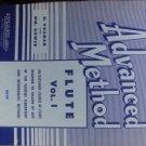 Rubank Advanced Method: Flute, Vol. 1 (Rubank Educational Library, No. 95) by Wm. Gow