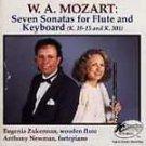 Mozart: Sonatas for Flute and Keyboard / Zukerman, Newman UPC: 023721570324