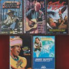 Jimmy Buffett Cassette Lot (5)