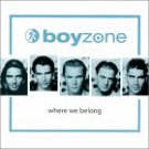 Where We Belong Boyzone  Format: Audio Cassette