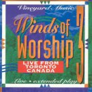 Winds of Worship, Vol. 3: Live From Toronto, Canada cassette