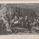 Embarkation of the Pilgrims -Vintage Perry Pictures