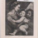 Madonna Della Tenda - Vintage Perry Pictures