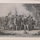 Landing of Columbus - Vintage Perry Pictures