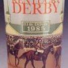 1985 Kentucky Derby mint julep glass