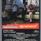 STRAY CATS Built For Speed AUDIO CASSETTE